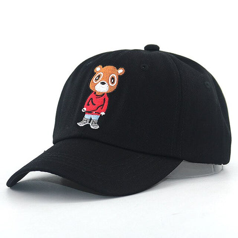 Hip Hop Bear Baseball Cap