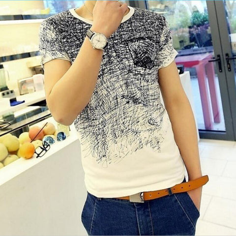Scribble Short Sleeve T-shirt