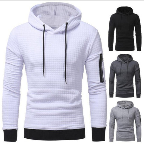 Twilled Hooded Sweatshirt