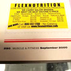 A message from the REAL Flex Nutrition Brand!