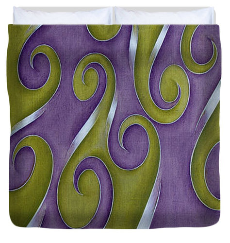Swirl Lake, No. 1 - Duvet Cover