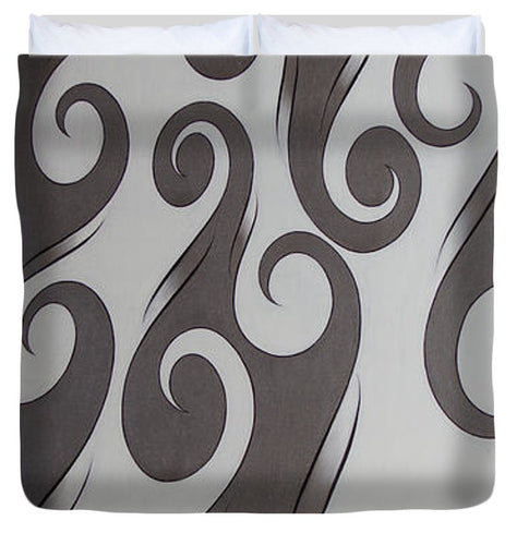 Swirl Lake, No. 3 - Duvet Cover