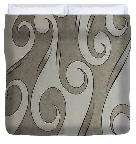 Swirl Lake, No. 4 - Duvet Cover