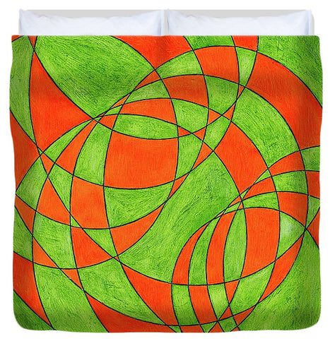 Intersection, No. 1 - Duvet Cover