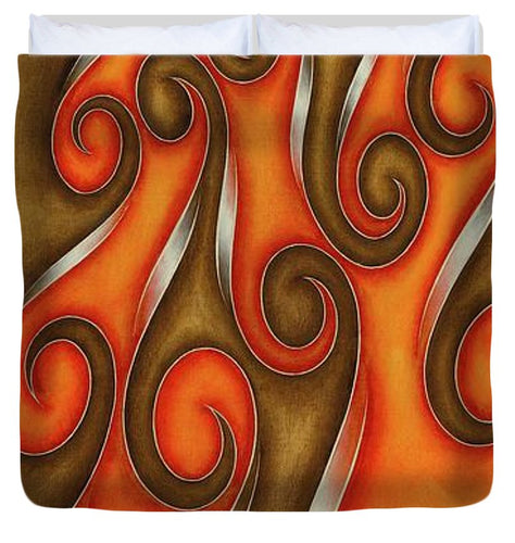 Swirl Lake, No. 6 - Duvet Cover