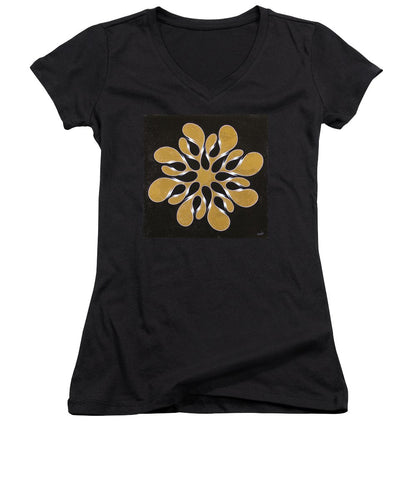 Infinite Ribbon, No. 1 - Women's V-Neck T-Shirt