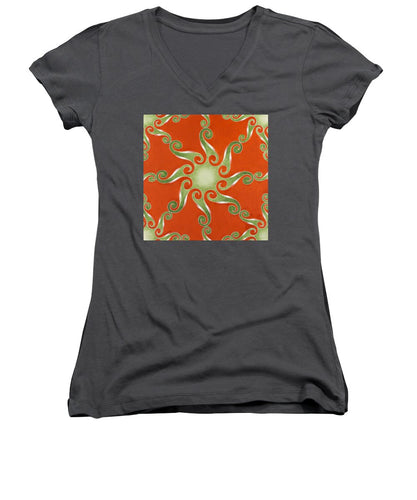 Infinity Duplicated, No. 1 - Women's V-Neck T-Shirt