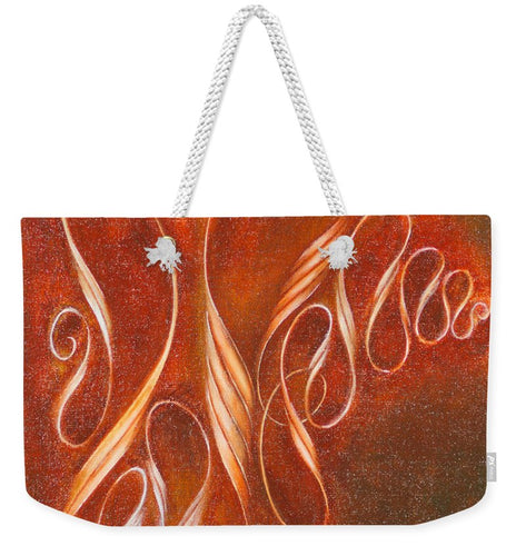 Multiplying Ribbon, No. 1 - Weekender Tote Bag