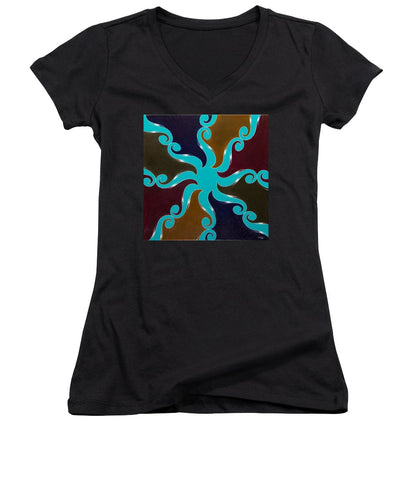 Points Of Return, No. 1 - Women's V-Neck T-Shirt
