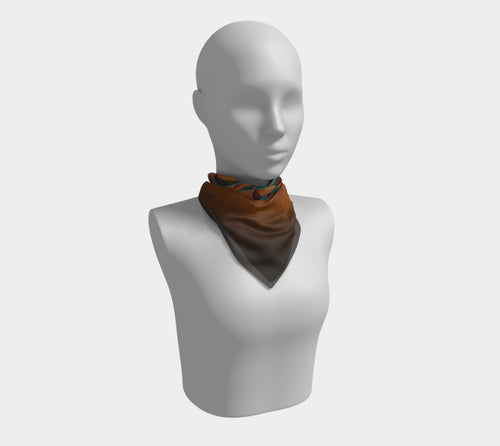 Entwining Ribbons, No. 1 - Square Scarf