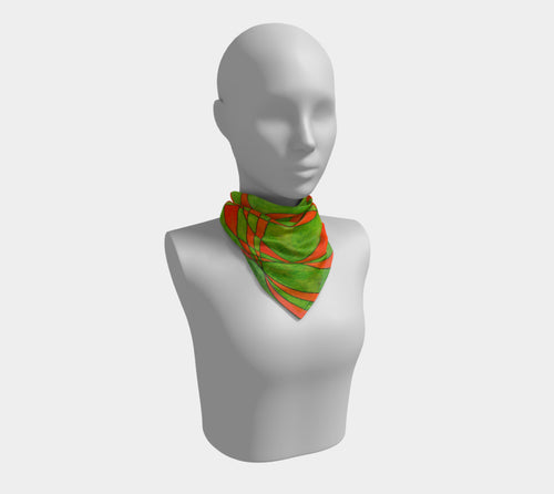 Intersection, No.1 - Square Scarf