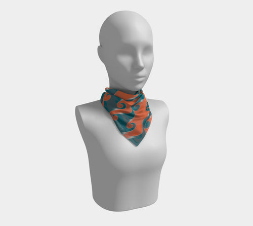 Step & Repeat, No. 2 - Square Scarf