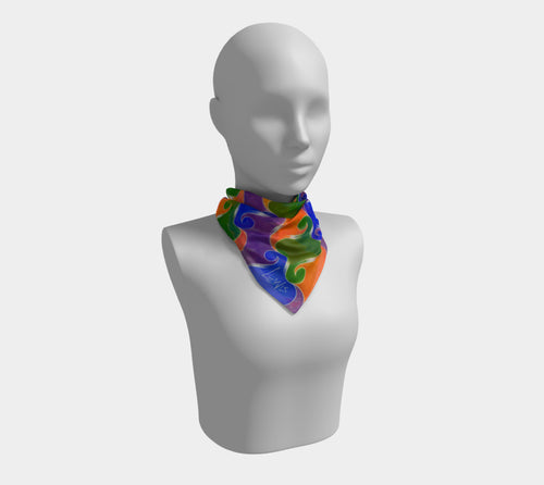 Step & Repeat, No. 3 - Square Scarf