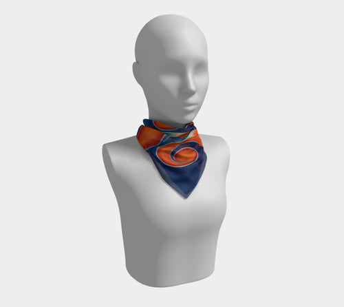 Unresolved, No. 1 - Square Scarf
