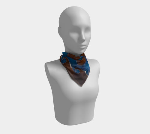 Vortex, No. 3 - Square Scarf