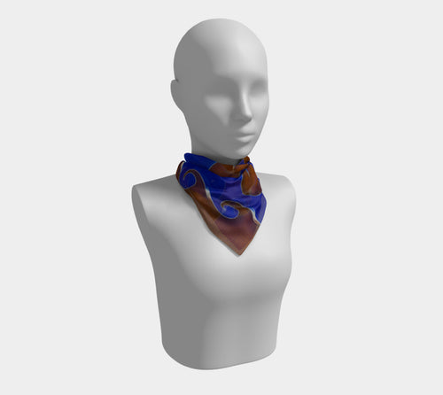 Vortex, No. 4 - Square Scarf