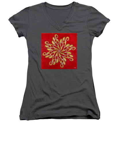 Revolver, No. 6 - Women's V-Neck T-Shirt