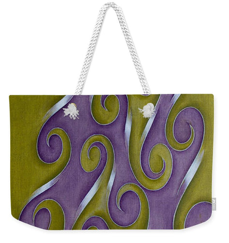 Swirl Lake, No. 1 - Weekender Tote Bag