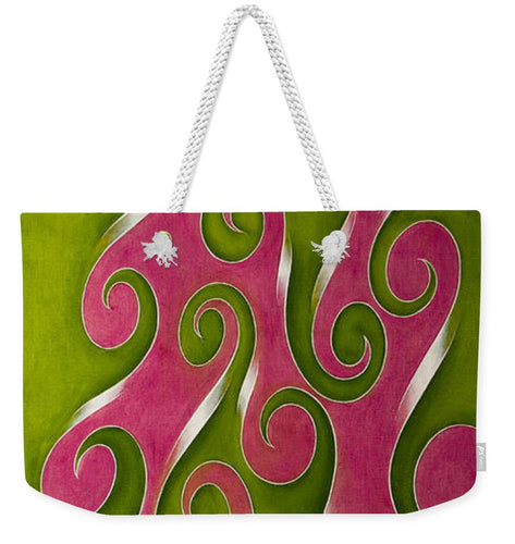 Swirl Lake, No. 2 - Weekender Tote Bag