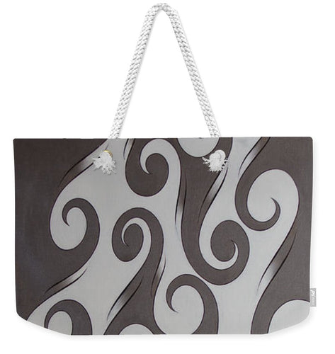 Swirl Lake, No. 3 - Weekender Tote Bag