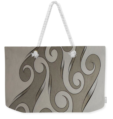 Swirl Lake, No. 4 - Weekender Tote Bag
