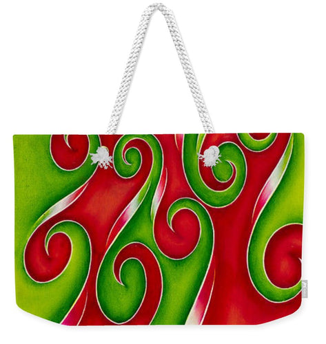 Swirl Lake, No. 5 - Weekender Tote Bag