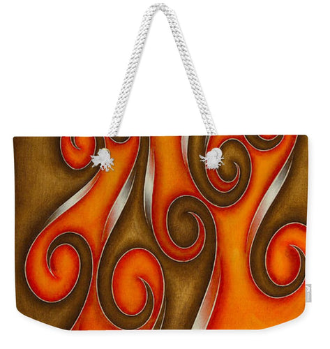 Swirl Lake, No. 6 - Weekender Tote Bag
