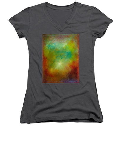 Atmosphere, No. 1 - Women's V-Neck T-Shirt