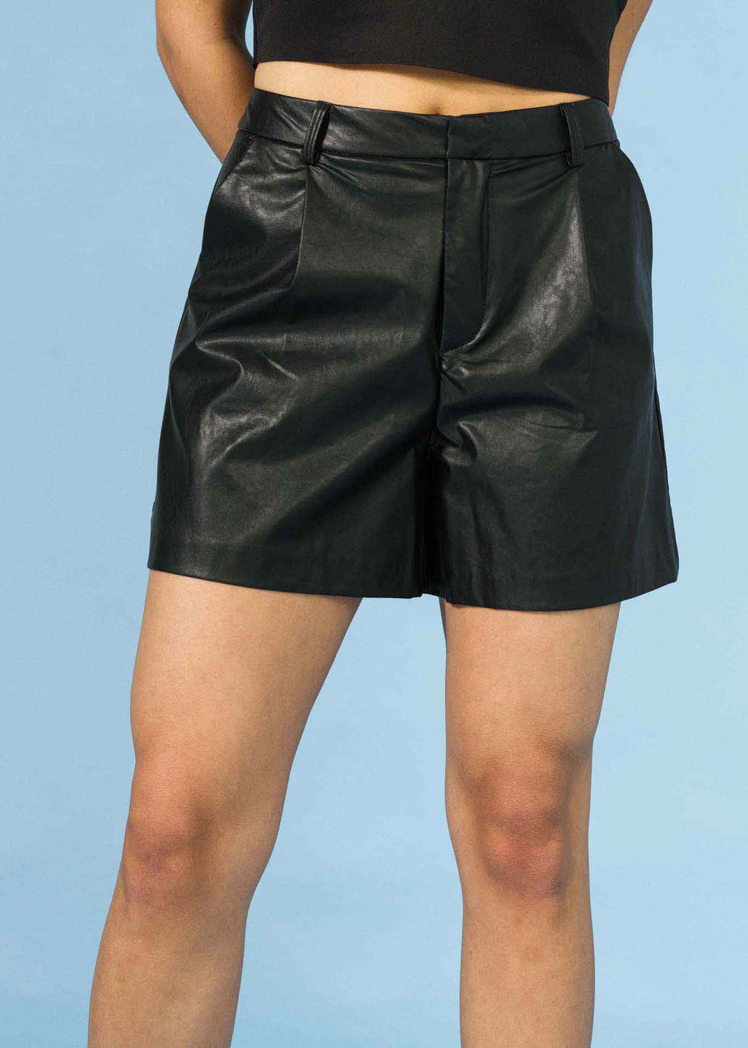 Shorts ecopelle
