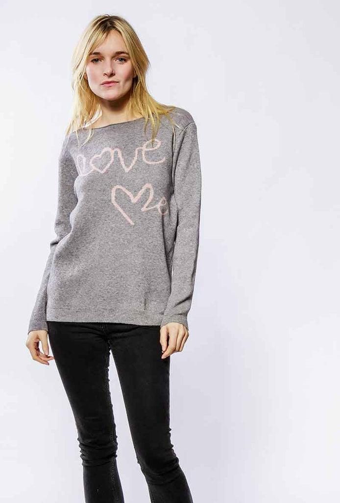 pullover love me in viscosa e cashmere