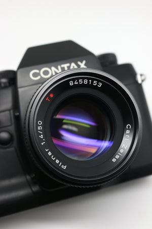 Contax RX & Carl Zeiss Planar T* 50mm F1.4 Lens