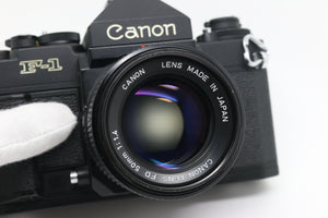 Canon 'New F-1' w/ FDn 50mm 1.4 Lens