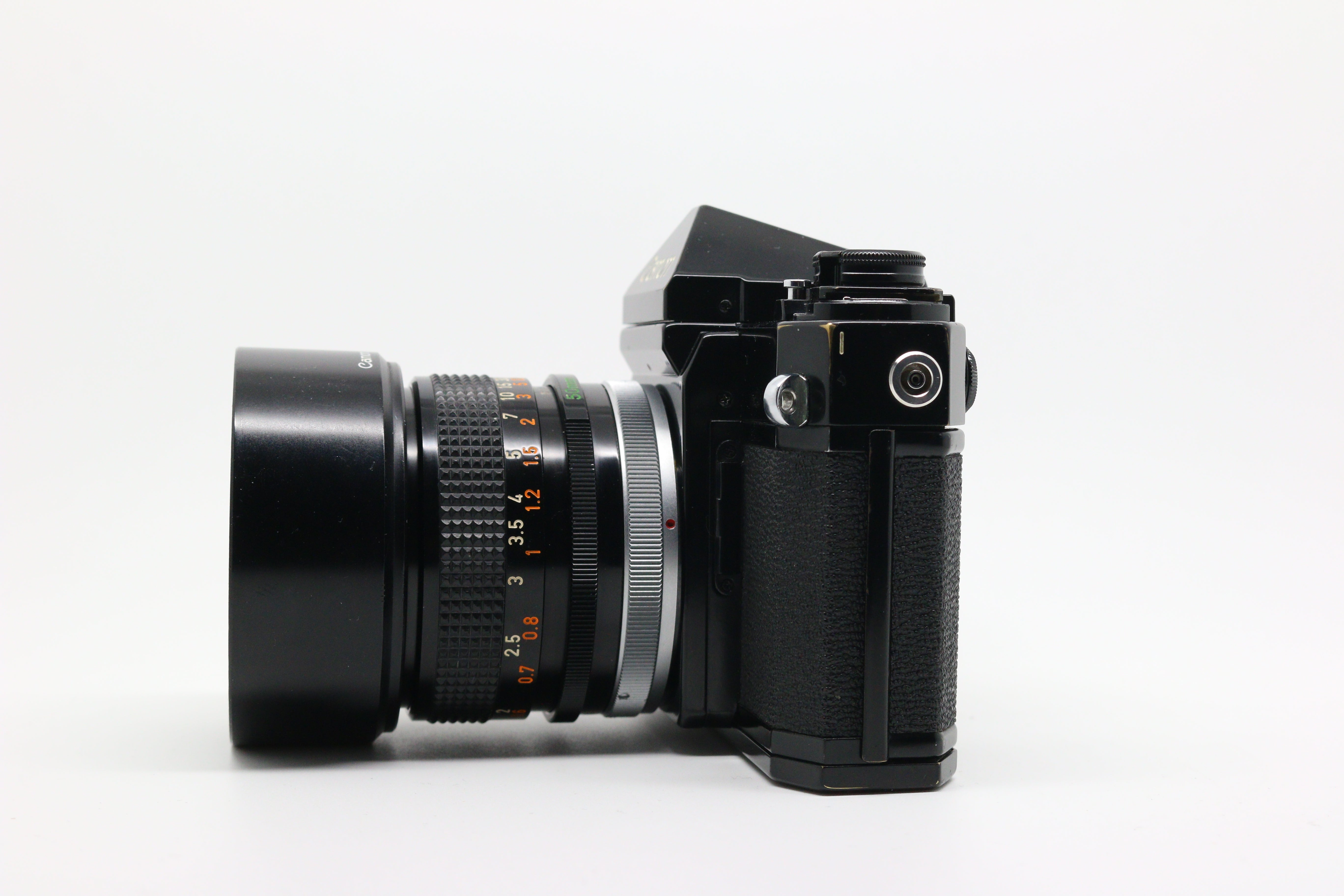 Canon F-1 & 50mm 1.4 FD SSC Lens