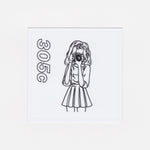 #01 Girl Stickers (Pack of 3)