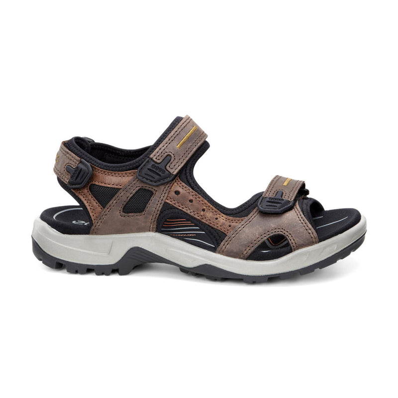 Men's ECCO Yucatan Hiking Sandal Espresso/Cocoa Brown