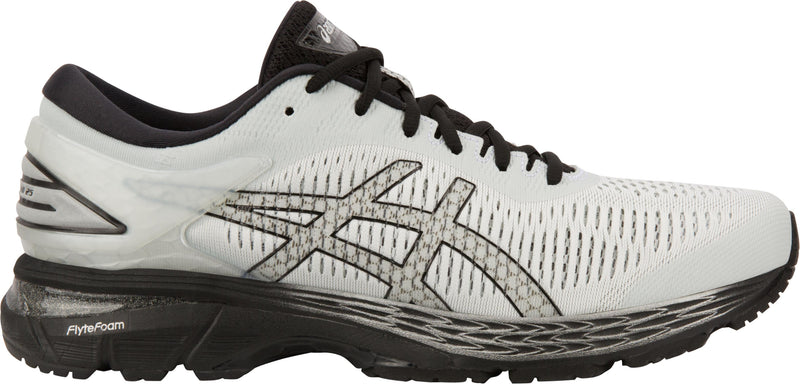 Men's Asics Gel-Kayano 25 Glacier Grey/Black Stability Running Shoes