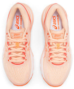 Women's Asics Gel-Nimbus 21 Baked Pink/White Neutral Cushioned Running Shoes