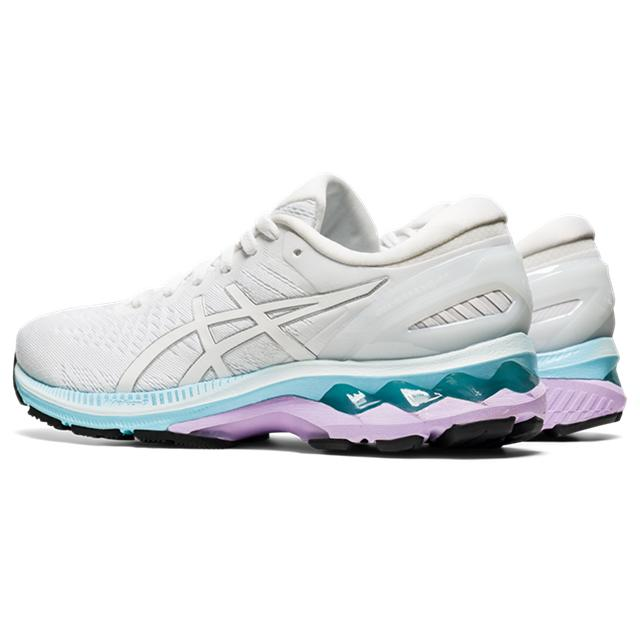Women's Asics Gel-Kayano 27 White/Pure Silver