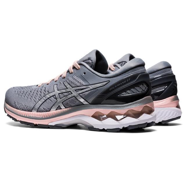 Women's Asics Gel-Kayano 27 Wide (D) Sheet Rock/Pure Silver