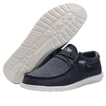 Men's Hey Dude Wally Sox Micro Navy Grey