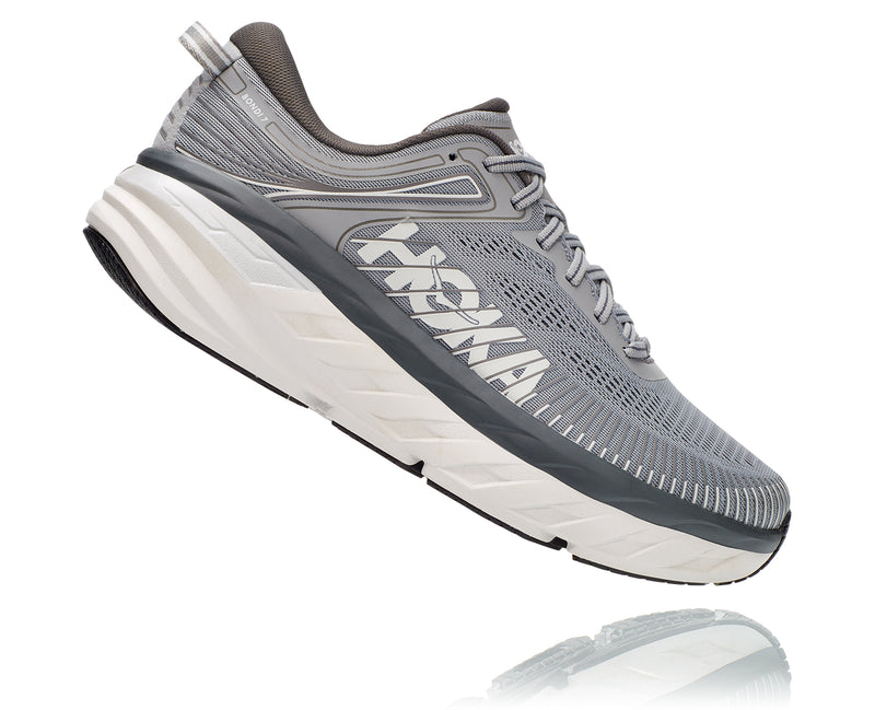 Men's Hoka One One Bondi 7 Wild Dove/Dark Shadow
