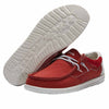 Men's Hey Dude Wally Flow Pompeian Red