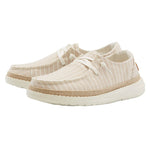 Women's Hey Dude Wendy Linen Stripes Beige