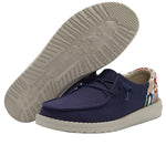 Women's Hey Dude Wendy Funk Chambray Navy