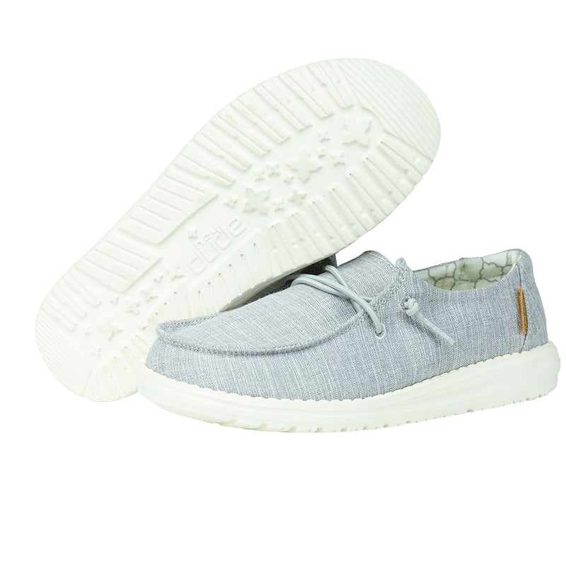 Youth Hey Dude Wendy Linen Grey