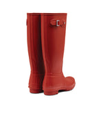 Hunter Original Tall Rain Boots Military Red - WFT1000RMAMLR