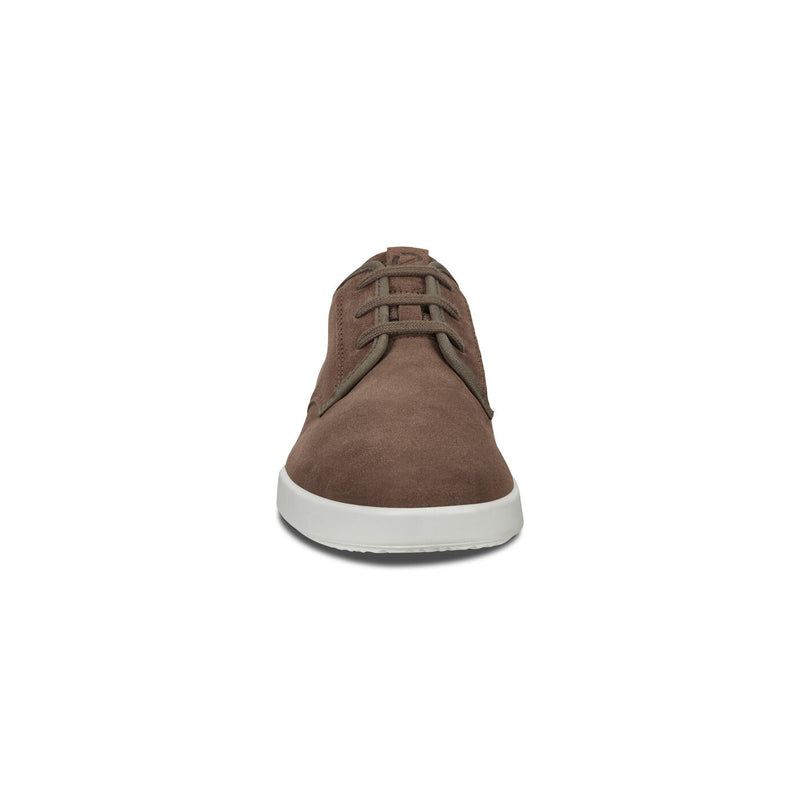 Men's ECCO Collin 2.0 Lace Up Sneaker Dark Clay/Dark Clay