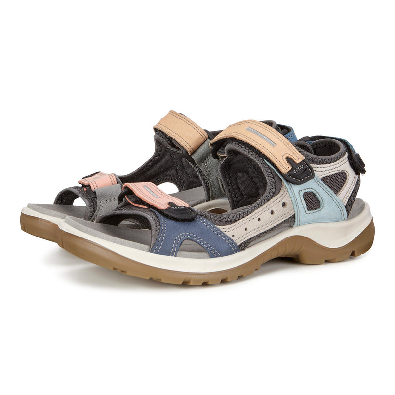 Women's ECCO Offroad Hiking Sandal Multicolored