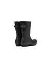 Hunter Original Short Back Adjustable Rain Boots Black - WFS1013RMABLK