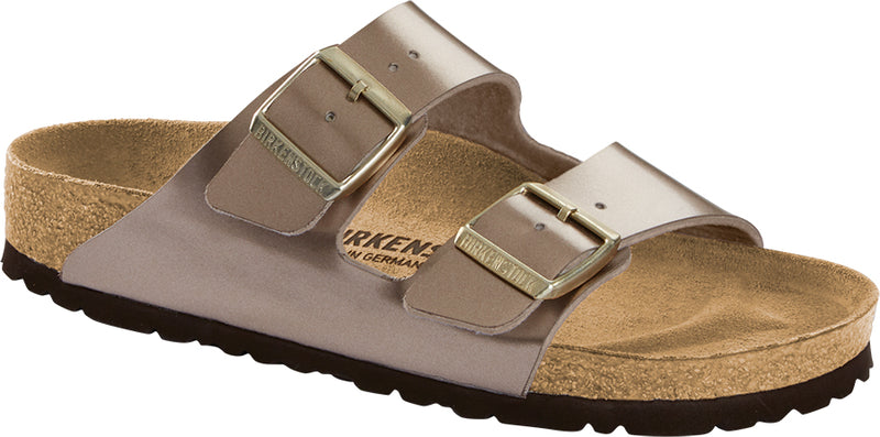 Birkenstock Arizona Birko-Flor Electric Metallic Taupe